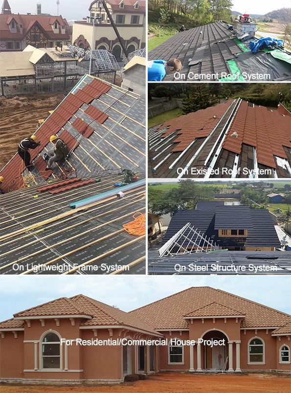 Fireproof Heat Insulation Roofing Materials Terrabella