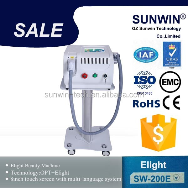 SHR fast IPL machine for hair removal and skin Care (different filters )