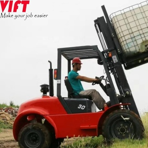 rough terrain forklift 2 ton 3 ton 5 ton 4WD off road forklift with Japanese engine