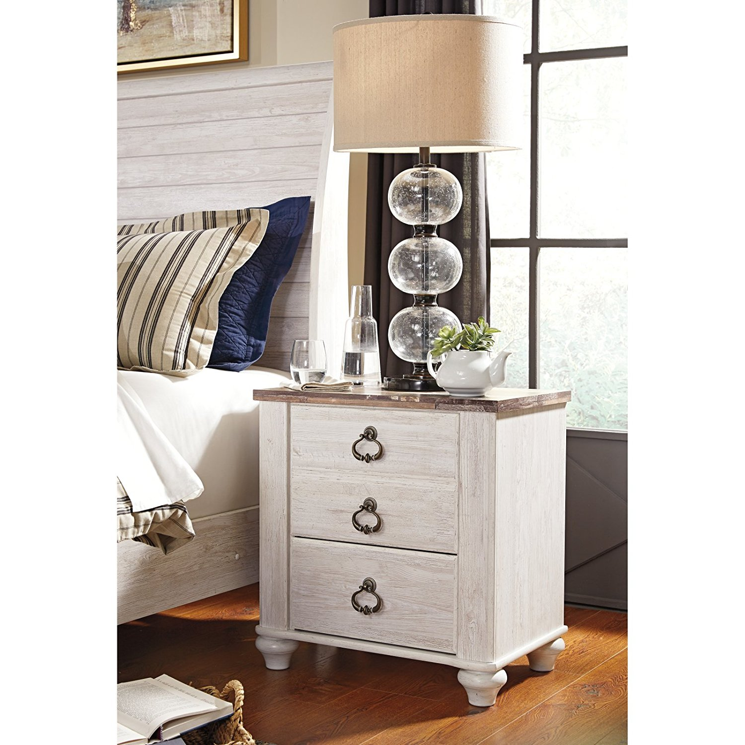 3 Drawer Nightstand, Side Table, Spacious Space, Enclosed Storage, Practical, Bedstand, Bed Side Cabinet, Suitable For Bedroom, Living Room, Home Furniture + Expert Guide