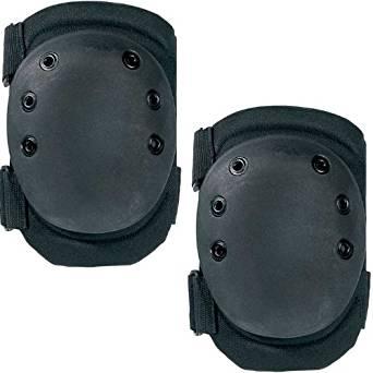 ULTRA FORCE MULTI-PURPOSE SWAT KNEE PADS - Color: Black