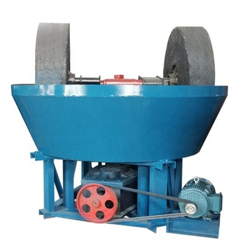 1200 Wet Milling Machine,Double Wheel Gold Washing Pan,Wet Pan Mill
