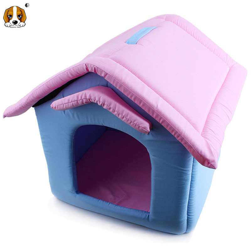 Simple Designed Foldable Dog Bed House Plus Mat HP572 Kennels House For Dogs And Cats Products and Goods For Pets And Dog