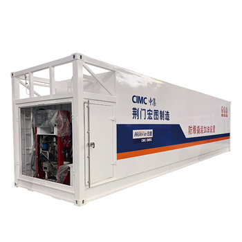 Anti-explosion Mobile Container Petrol Filling Station 40' Fuel Tank Container