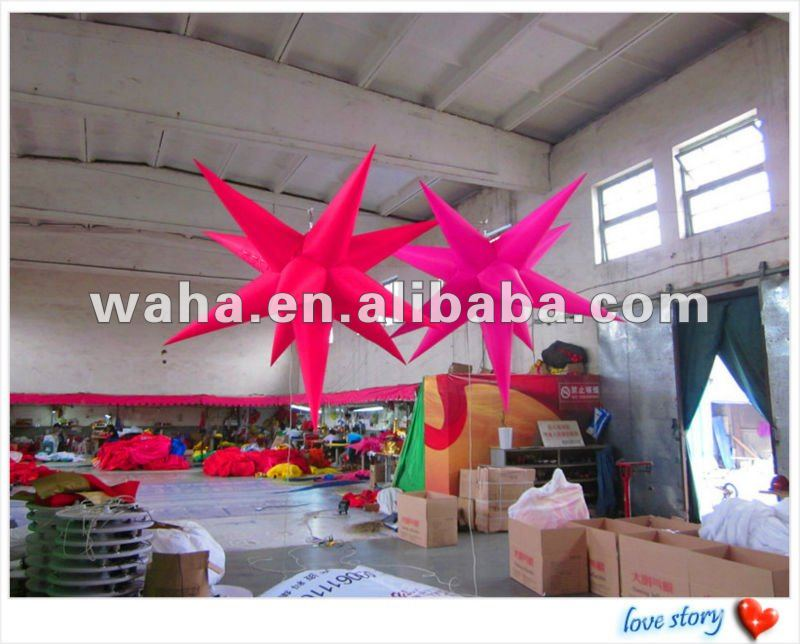 2012 newly inflatable star for party/wedding/event decoration