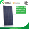 2016 Alibaba Top 1 supplier poly 300W with aluminum extrusion solar panel frame
