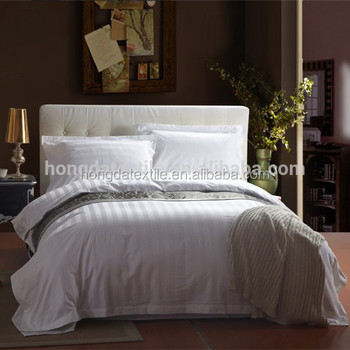 Exceptional 100% Cotton Hotel Bed Linen , Used Cotton Bed Sheets Wholesale