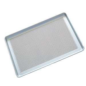 Perforated baking tray/ aluminum flat baking Pan