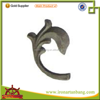 wrought iron ornaments/cast iron decorations/ cast steel products