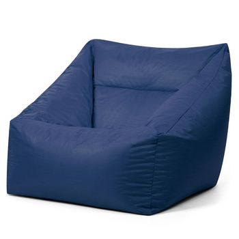adult blue personality comfort custom furniture indoor bean bag corner sofa without filling bean couch velvet bean bag