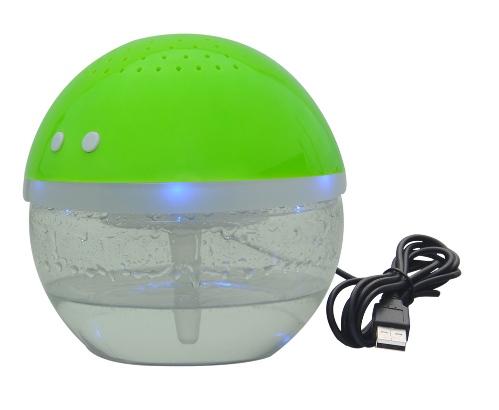 round shaped Led water based electric air freshener