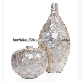 Best Selling High Quality Mother Of Pearl Inlay Vase From Vietnam