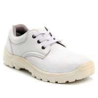 SOMO Best Selling Products Low Cut Worker Steel Toe Labor Safety Shoes White