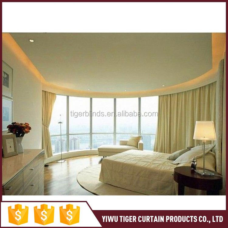 Factory Sale excellent quality curtains with attached valance directly sale