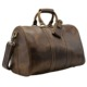 Tiding Factory Price Crazy Horse Leather Weekend Overnight Travel Leather Holdall Bag For Sale