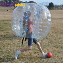 Promotion Human Customized Inflatable Body Bubble Bumper Ball Soccer For Adult
