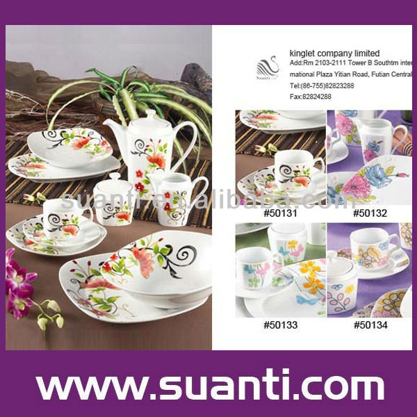 Porcelain houseware products