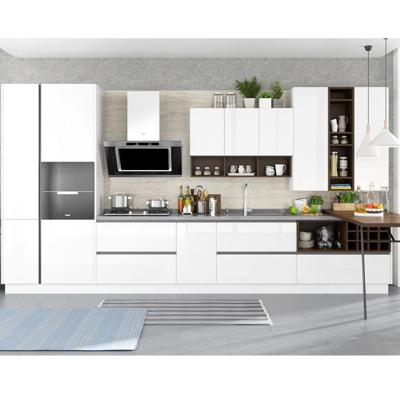 Best Selling Modern Lacquer Mdf Ready To Assemble Kitchen ...