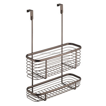 Sliding Over The Cabinet Kitchen Storage Wire Basket For Aluminum