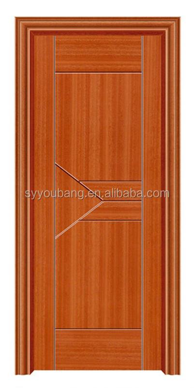 Pvc hollow doors door design sunmica embossed mdf pvc door for Sunmica door design