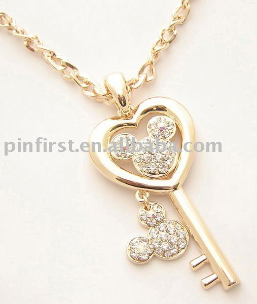 New beautiful pendant key necklaces with crystal buy key necklaces new beautiful pendant key necklaces with crystal buy key necklacesmodern pendant necklaceantique key pendant necklace product on alibaba mozeypictures Image collections