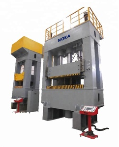 Four Column Ceramic Tiles Manual Hydraulic Press Machine Double Action Deep Drawing Hydraulic Press 200T