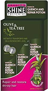 Smooth N Shine Olive &Tea Tree Quench & Repair Potion 3's 5.8 oz.