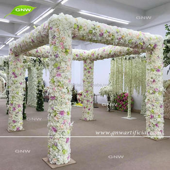 Gnw the unique hot selling happy wedding artificial flower arches gnw the unique hot selling happy wedding artificial flower arches decorated on sale junglespirit Choice Image