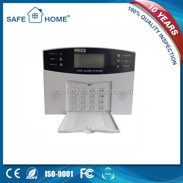 Popular Digital Alarm System with Sound Prompting for All Operations