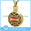 dog cremation jewelry pendant in stainless steel cremation jewelry pet pendant keepsake urns charm pendant