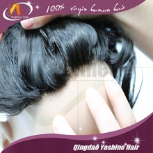 Indian Human Hair 0.03mm Super Thin Skin Invisible Knot Natural Hairline Pu Injection Toupee