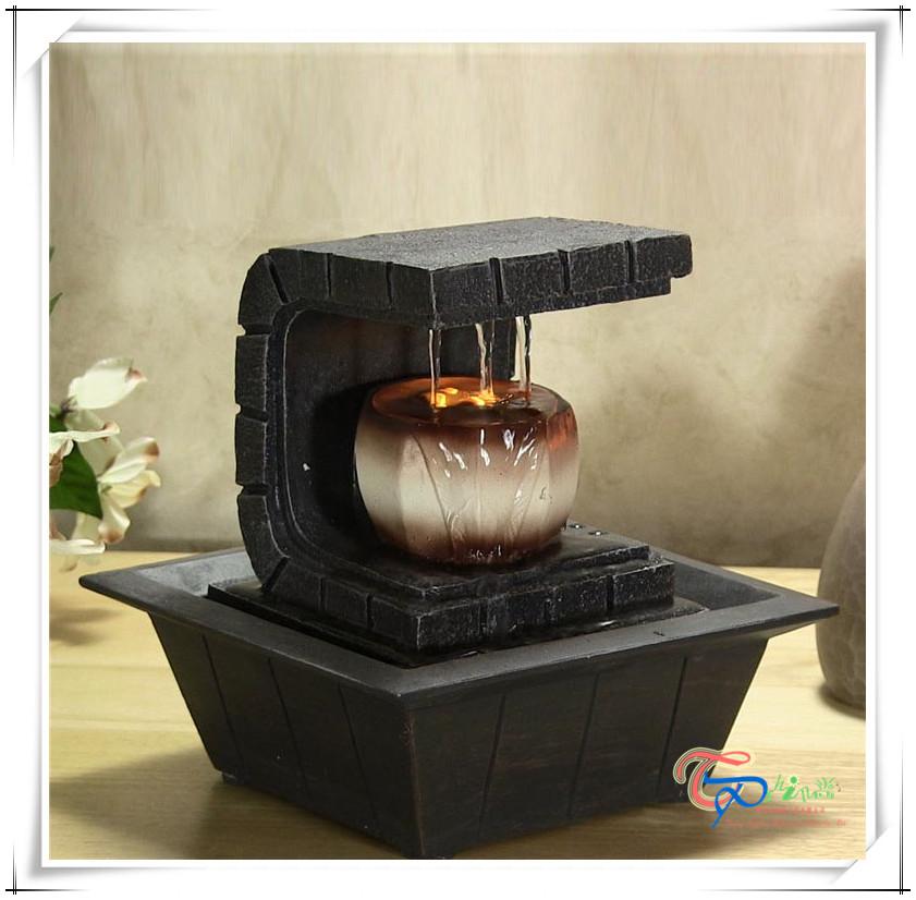 Elegant Vente Chaude Chine Usine Led Mini Fontaine Du0027eau à Lu0027intérieur Beau