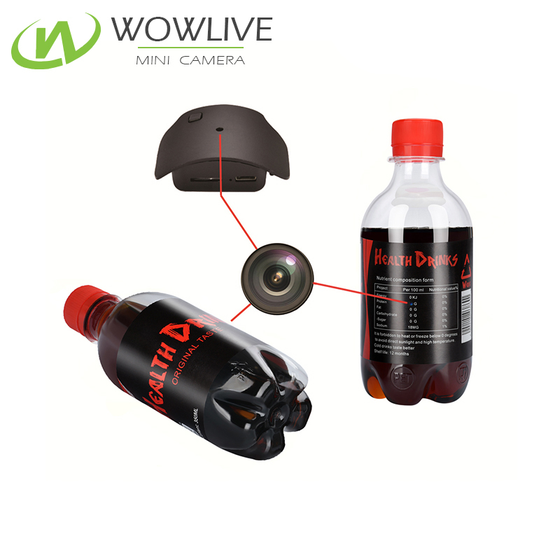 Mini 1080P drink bottle covert very very small hidden <strong>camera</strong>