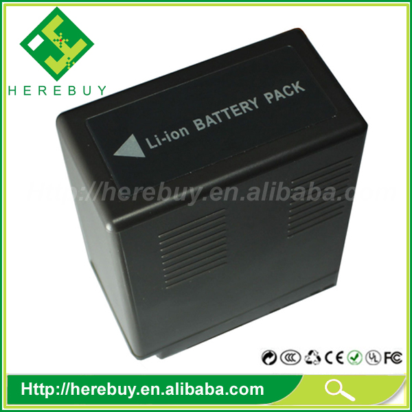Made in China High-capacity 5200mAh Camcorder Li-ion Battery VW-VBG6 for Panasonic SDR-H90 H80 H60 H4 VDR-D50 PV-GS90