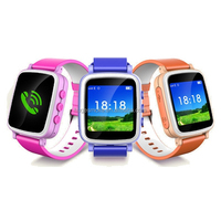 Ios and Android kids cell phone watch smart watch phone Q80 q50 q60 kids gsm sps tracker watch