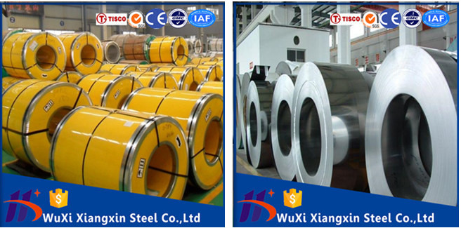 full hard Cold Rolled Stainless Steel Coil 301 430