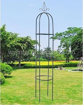 Steel Frame Garden Obelisk For Climbing Plants