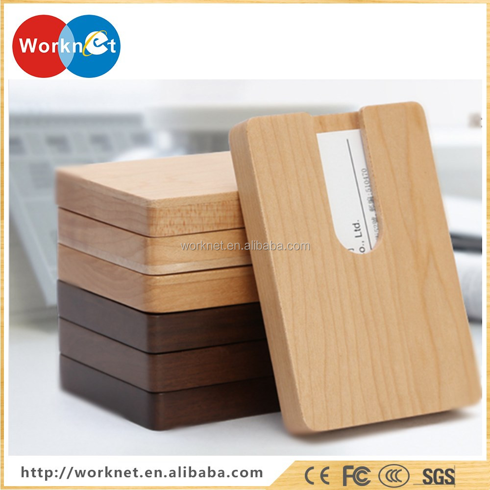 2016 New Hot Products Wooden Business Credit Card Holder Business ...