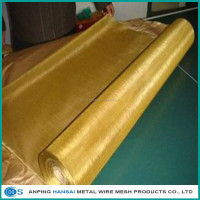 Brass Woven Wire Mesh Screen