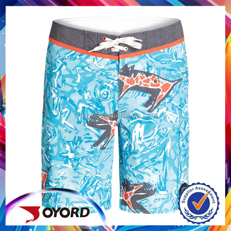 Polyester 4 Way Stretch Mma Customs Surf Or Swim Mens Custom Board Shorts