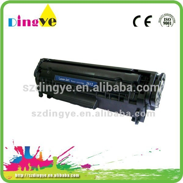 Best selling ink and toner cartridge for hp 2612 long life cartridge for hp 2612