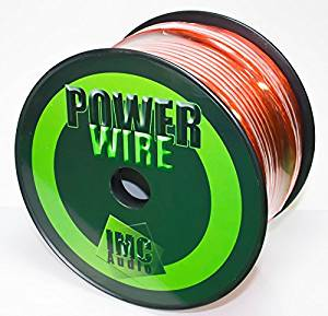 200 Ft - 8 Gauge Power Wire Red GA Guage Ground AWG 200 Feet