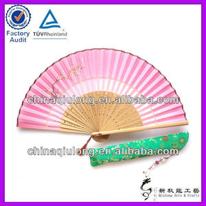 Personalized Cheap Hand Fan Wedding Favors Bulk