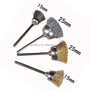 15mm/25mm guaranteed quality promotional price crimped wire mini scratch brushes