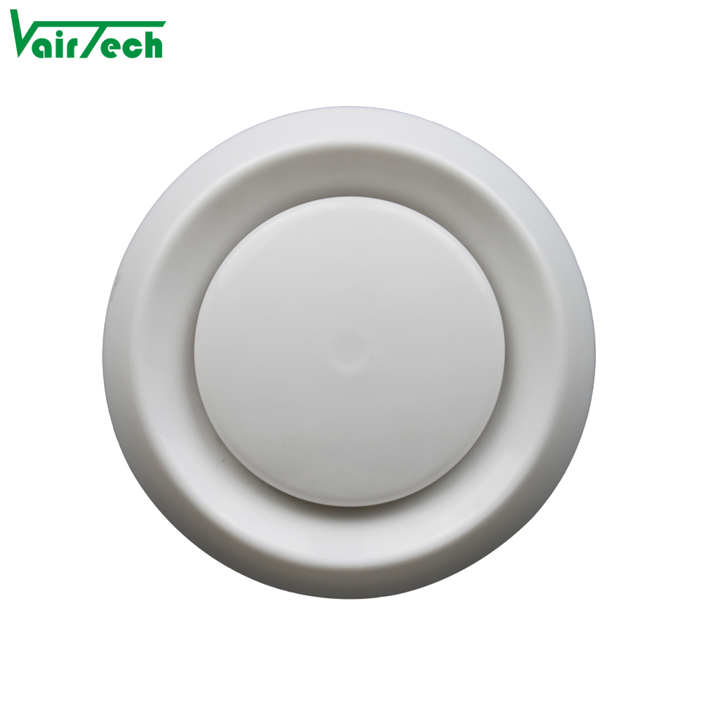 Air Conditioner Vent Cover Ceiling Plastic Round Vents Conditioning Covers Product