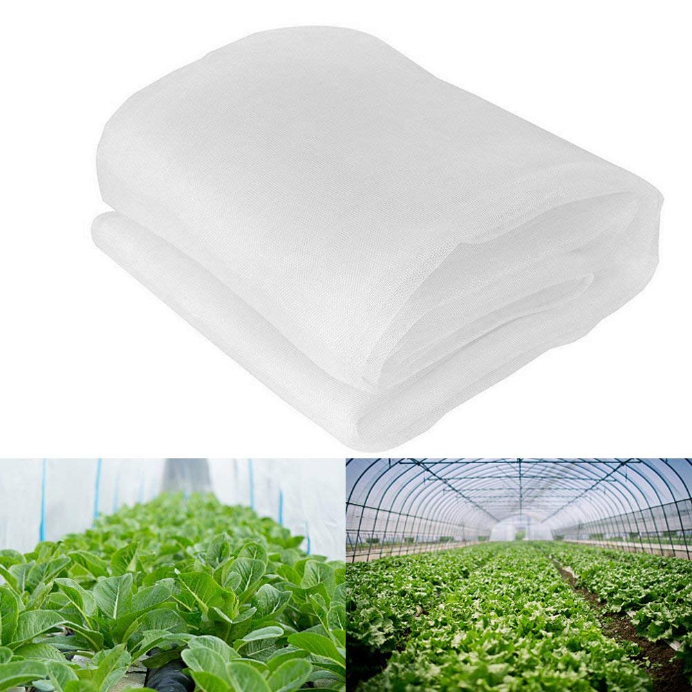 Insect Garden Netting,SHZONS Anti Insect Mosquito Bug Butterfly Trellis Poultry Net Garden Plant Netting Pest Control Berry Fruits Vegetabels Crops Protective Covers