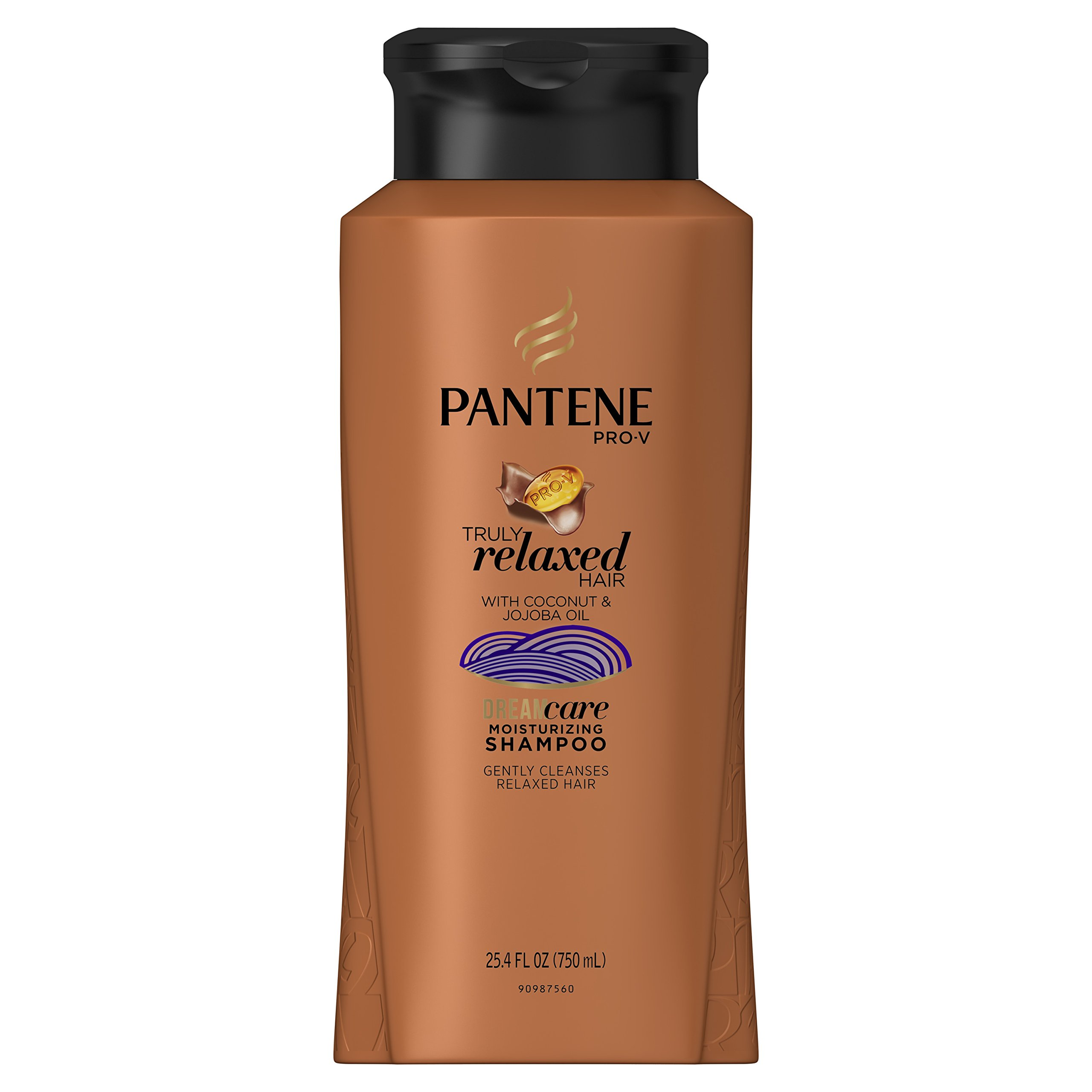 Pantene Pro-V Truly Relaxed Moisturizing Shampoo 25.4 Fl Oz (Packaging may vary)
