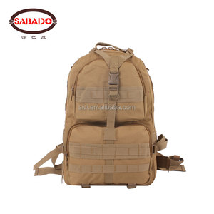 Customer Logo 600D outdoor hiking rucksack camouflage tactical military backpacks bag
