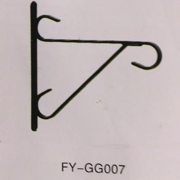 Simple Metal Garden Hooks For Hanging Flower Pot