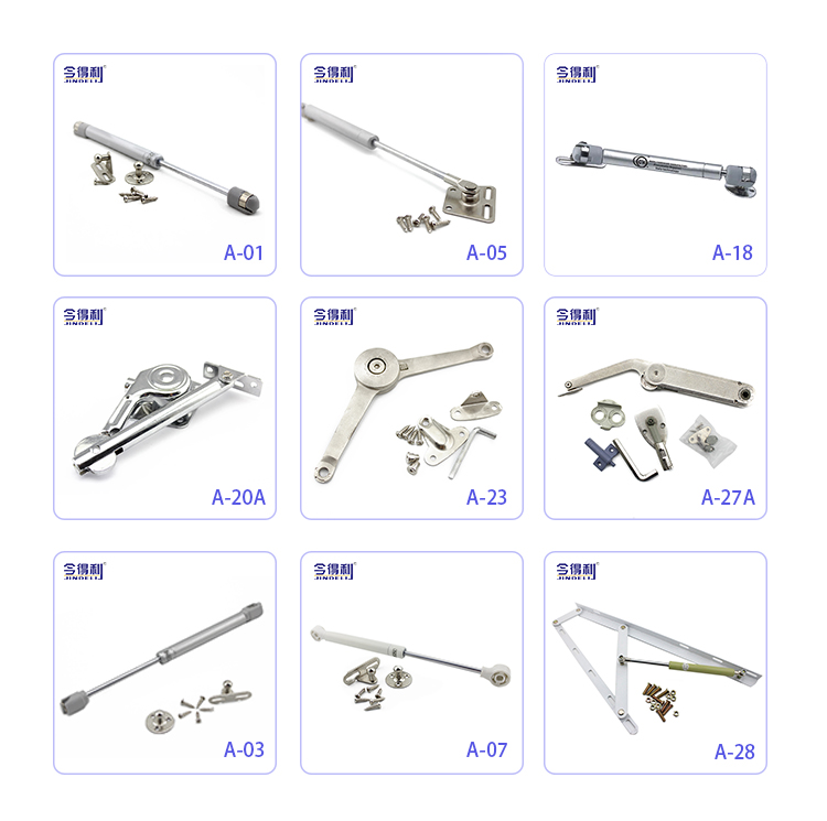 Furniture Hardware Metal Cabinet Door Hinge Flap Stay Flap Hinge A-22